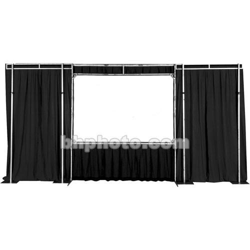 The Screen Works Trim Kit for the E-Z Fold Truss 6x16' TKEZ616BL