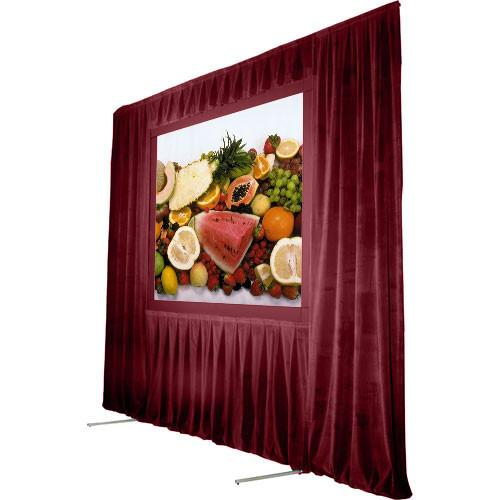 The Screen Works Trim Kit for the Stager's Choice 6x8' TKSC68BU