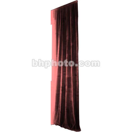 The Screen Works Truss Drapery Panel - 12x6' - Burgundy