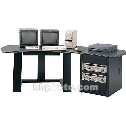 Winsted E4509 Single Pedestal Digital Desk (Gray) E4509