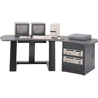 Winsted E4519 Single Pedestal Digital Desk (Black) E4519