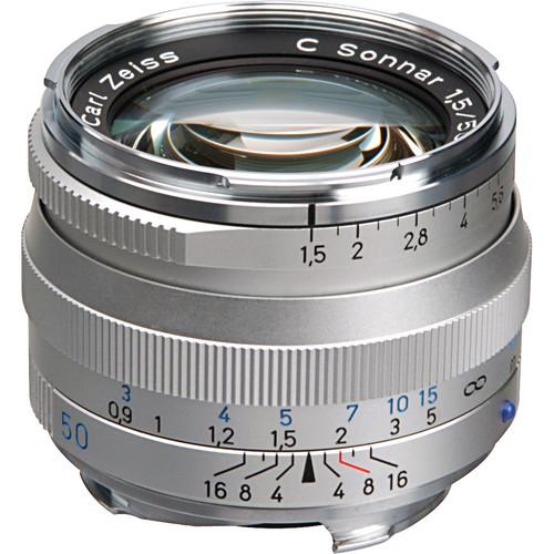 Zeiss  50mm f/1.5 ZM Lens - Silver 1407-067
