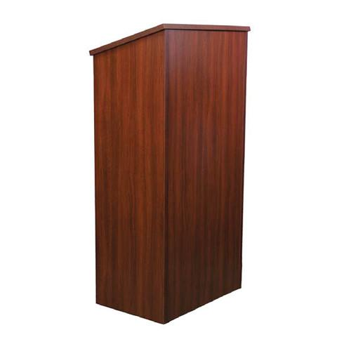 AmpliVox Sound Systems One-Piece Full Height Wood W280-WT