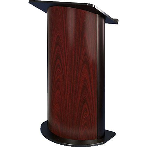 AmpliVox Sound Systems SN3125 Curved Color Panel Lectern SN3125