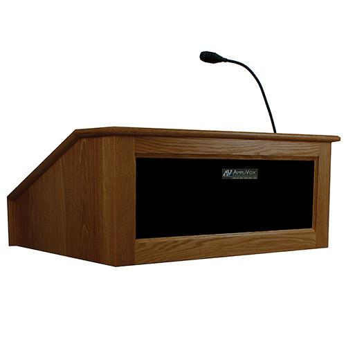 AmpliVox Sound Systems Victoria Tabletop Lectern SS3025-OK