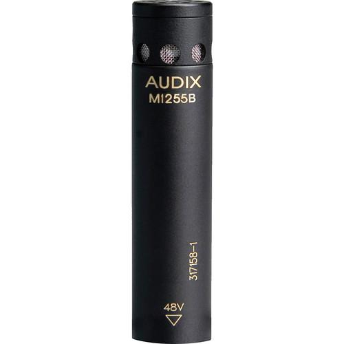 Audix M1255B-W Miniature Condenser Microphone with 25' M1255B-W