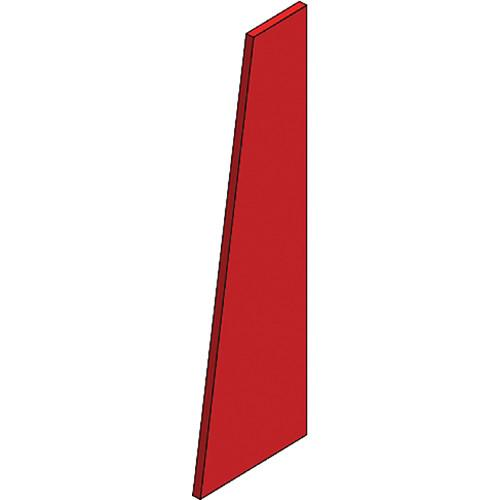 Auralex S3TZR SonoSuede Trapezoid Panel - Right (Red) S3TZR-RED