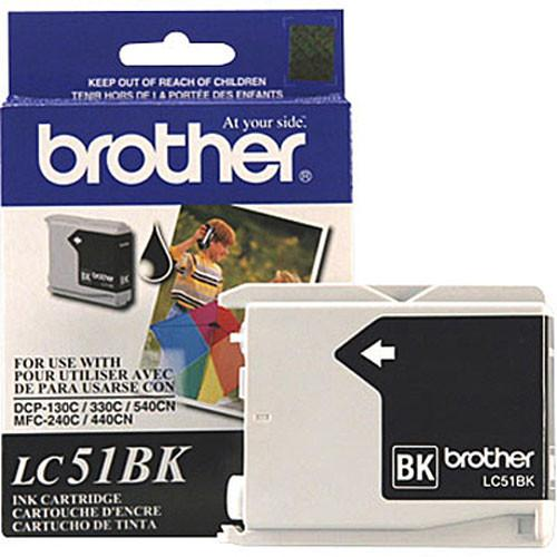 Brother LC51BK Innobella Black Ink Cartridge LC51BK