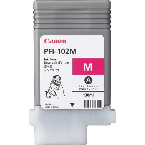Canon PFI-102MBK Matte Black Ink Tank (130 ml) 0894B001AA