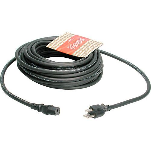 Hosa Technology Black Extension Cable w/ IEC Female - 3' PWC-403