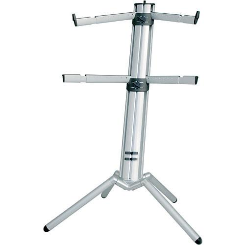 K&M 18860 Spider-Pro Double-Tier Keyboard Stand 18860-000-35
