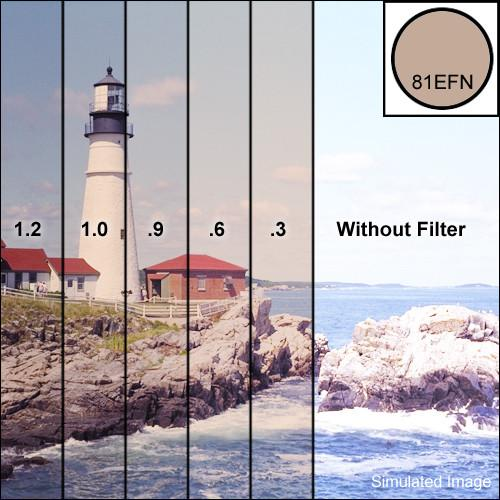 LEE Filters 100 x 150mm Combination 81EF and 0.3 81EFWN3S