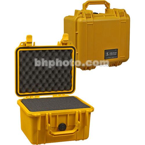 Pelican 1300 Case with Foam (Yellow) 1300-000-240