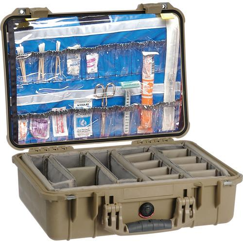 Pelican 1500EMS Watertight ATA Hard Case with EMS 1500-005-150