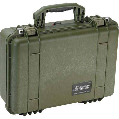 Pelican 1500NF Case without Foam (Silver) 1500-001-180
