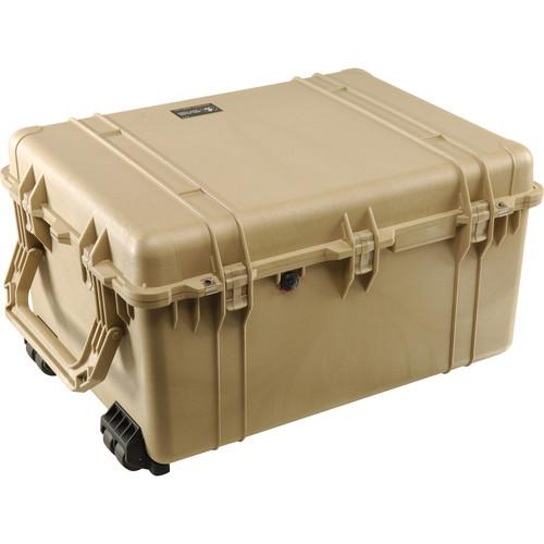 Pelican 1630NF Case without Foam (Olive Drab Green) 1630-001-130