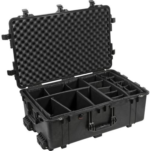Pelican 1654 Waterproof 1650 Case with Dividers 1650-024-190