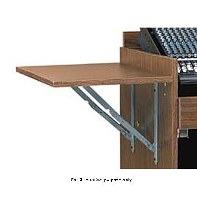 Raxxess Accessory Flip Shelf for the ECR Cabinet, ECR-WT/SHELF