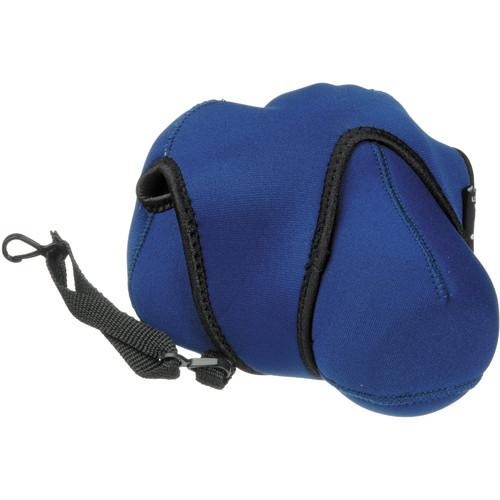 Zing Designs Large DSLR Reversible Camera Cover (Blue) 502-202