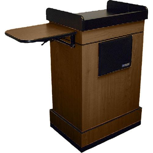 AmpliVox Sound Systems Multimedia Computer Lectern SW3230-WT-L
