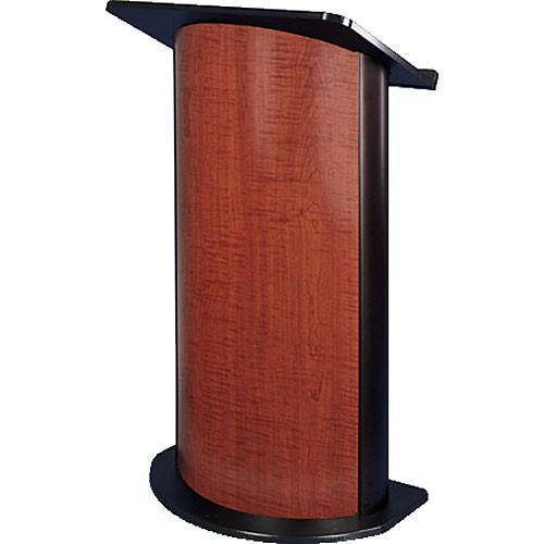 AmpliVox Sound Systems SN3130 Curved Color Panel Lectern SN3130