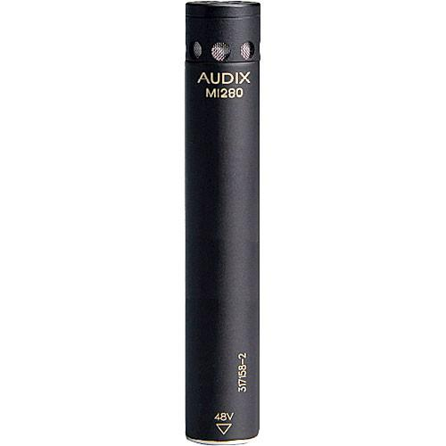 Audix M1280HC Miniature Condenser Microphone with 25' M1280-HC