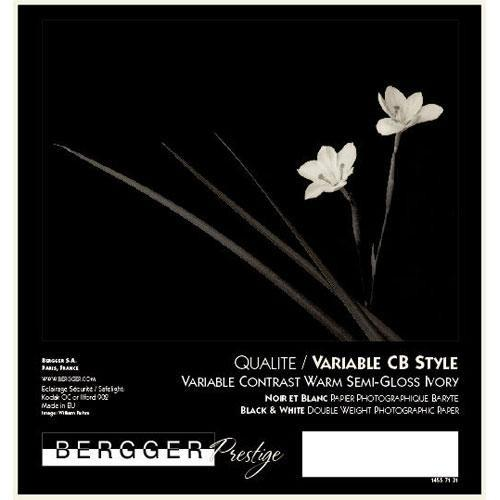 Bergger Prestige Variable CB Warmtone Baryta Paper VCCBS127/10