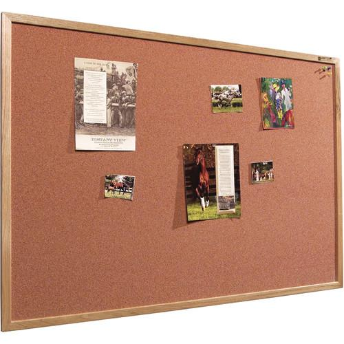 Best Rite 300WF Splash-Cork Tackboard (Blue) 300WFBL