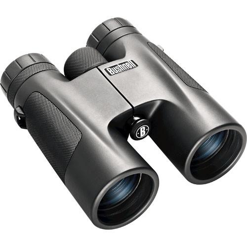 Bushnell 10x42 Powerview Binocular (Black) 141042