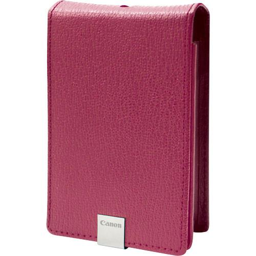 Canon  PSC-1000 Leather Case (Pink) 3088B002