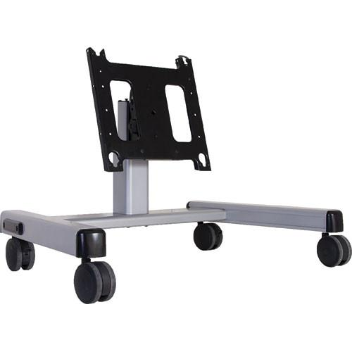 Chief PFQ-U Confidence Monitor Cart (Black) with Universal PFQUB