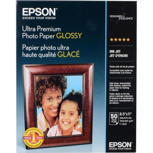 Epson  Ultra Premium Photo Paper Glossy S042175