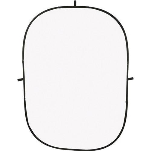 Impact Collapsible Background - 5 x 7' (White) BGC-W-57, Impact, Collapsible, Background, 5, x, 7', White, BGC-W-57,