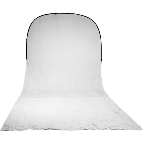 Impact Super Collapsible Background - 8 x 16' (White) BGSC-W-816