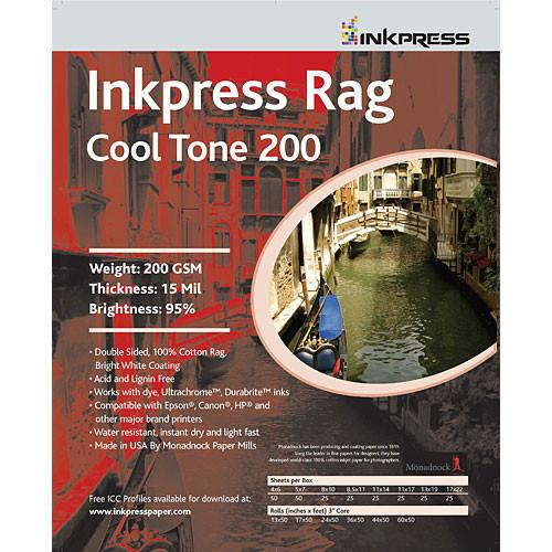 Inkpress Media Rag Cool Tone 200 Paper PRCT2008825