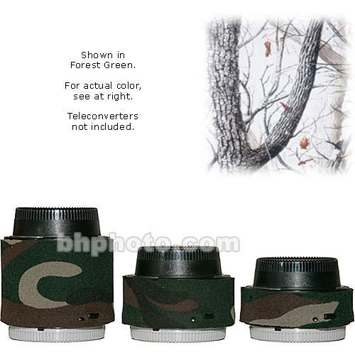 LensCoat Lens Covers for the Nikon Teleconverter Set LCNEXIIDC