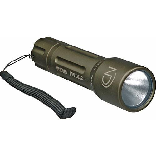 Night Detective Hyper Beam V-60 Flashlight (Silver) HB V-60S