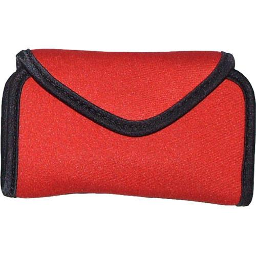 OP/TECH USA Snappeez Soft Pouch, Large Horizontal (Red) 7302164