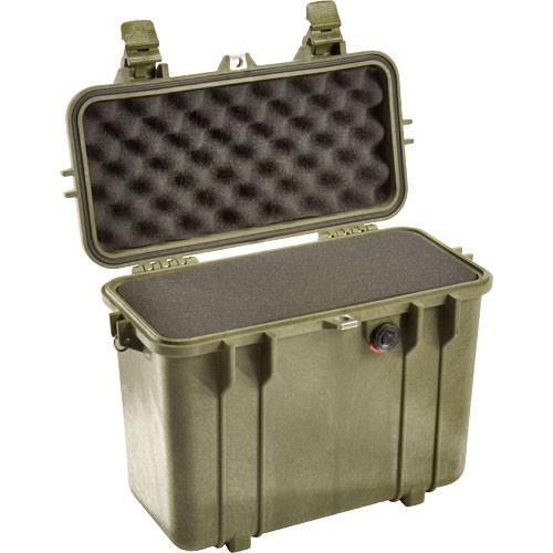 Pelican 1430 Top Loader Case with Foam (Olive Drab) 1430-000-130