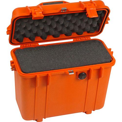 Pelican 1430 Top Loader Case with Foam (Yellow) 1430-000-240