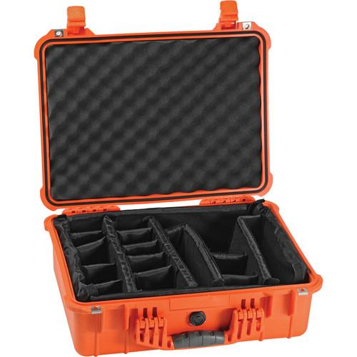 Pelican 1524 Waterproof 1520 Case with Padded 1520-004-130