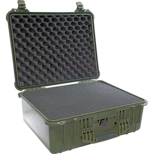 Pelican 1550 Case with Foam (Olive Drab Green) 1550-000-130