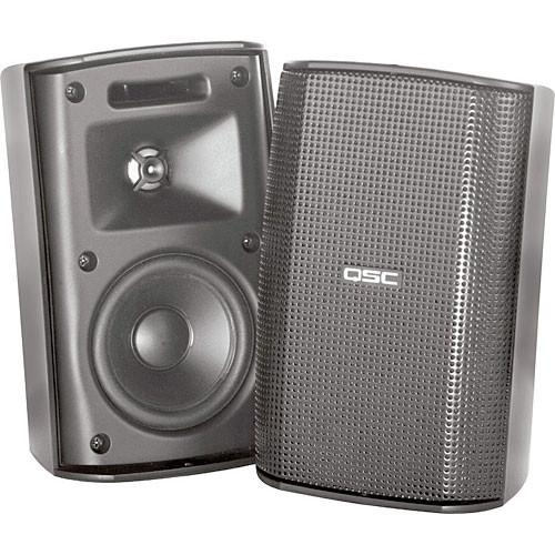 QSC AD-S32T AcousticDesign Surface Mount Speakers AD-S32T-WH