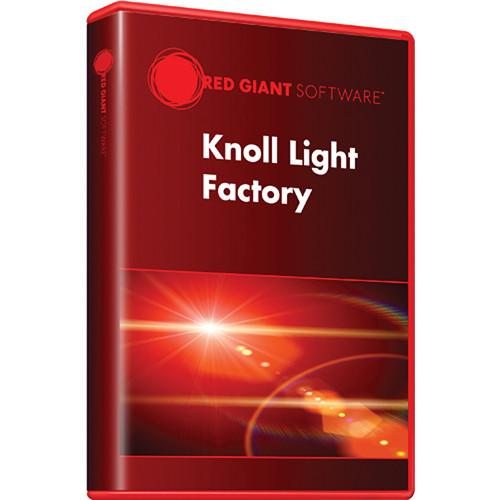 Red Giant Knoll Light Factory Upgrade (Download) KNOLL-PRO-UD