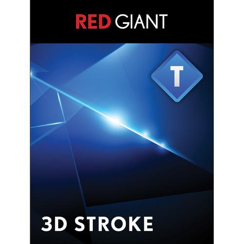 Red Giant Trapcode 3D Stroke - Upgrade (Download) TCD-STROKE-UD