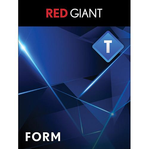 Red Giant  Trapcode Form (Download) TCD-FORM-D