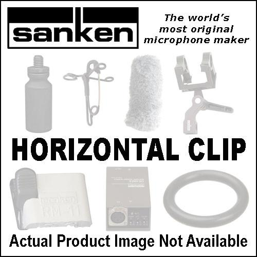 Sanken Horizontal Microphone Clip 10-Pack (White) HC-11-WH