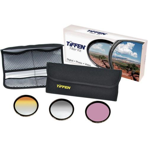 Tiffen 77mm Scenic Enhancement Kit 3 - Sunset Color 77DVSEK3