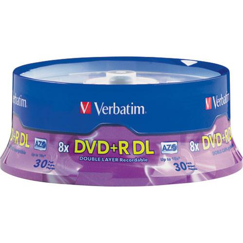 Verbatim DVD R Double Layer, Recordable Disc 96542