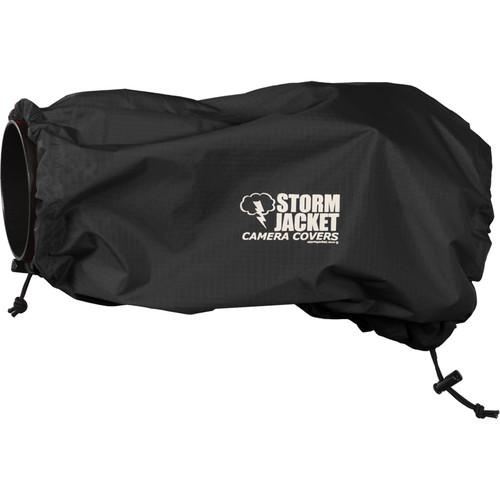Vortex Media SLR Storm Jacket Camera Cover, Medium (Black)